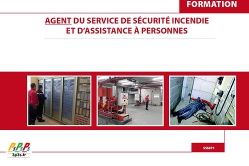 Bloc SSIAP1 (Agent du service de sécurité incendie et d'assistance à personnes)