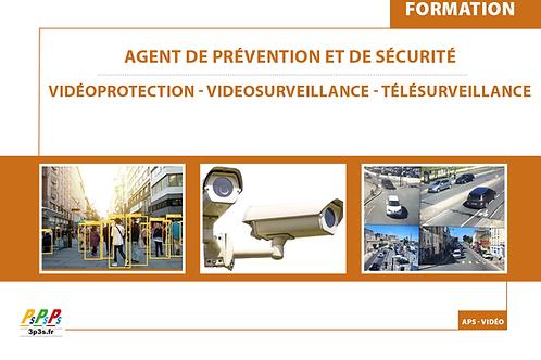 Bloc formation CQP Agent vidéoprotection - télésurveillance