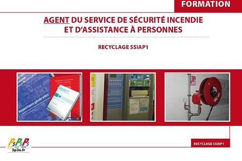Bloc REC SSIAP1 (Agent du service de sécurité incendie et d'assistance à p