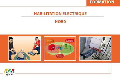 Bloc HOB0 (Habilitation électrique)