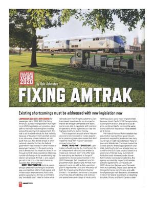 Fixing Amtrak