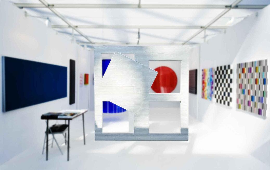 Espace Meyer Zafra, Francisco Salazar, Art Paris Art Fair, Grand Palais, France