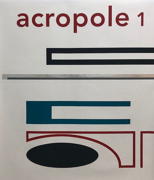 Patricia Golombek, Espace Meyer Zafra, Acropole First Issue