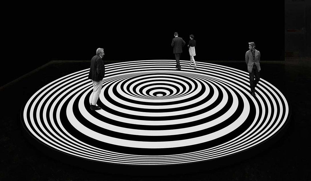 Espace Meyer Zafra, Marina Apollonio, The Ilusive Eye, El Museo del Barrio, New York, Spazio