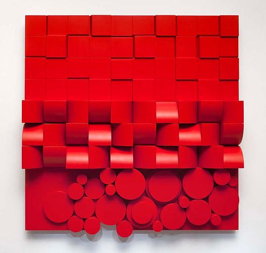 Espace Meyer Zafra, Joao Carlos GalvaoRelief rouge RG 50.jpg