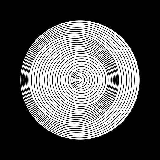 Espace Meyer Zafra, Marina Apollonio, Dinamica Circolare Cratere