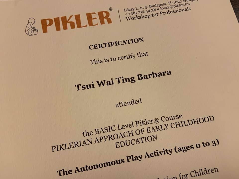 Pikler Certification