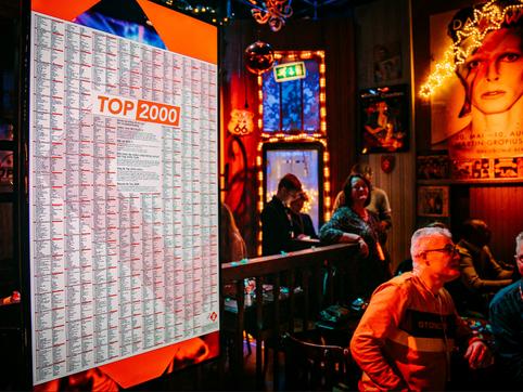 Top 2000 - bekendmaking Top 3/uitreiking Top 2000 Award