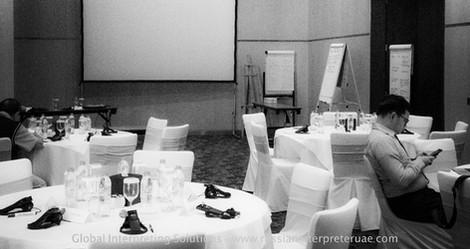 Conference Interpreter Dubai