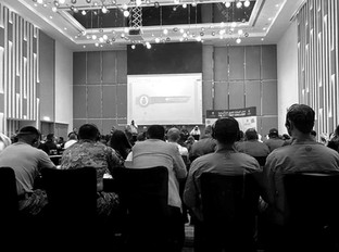 Russian Interpreter at a conference