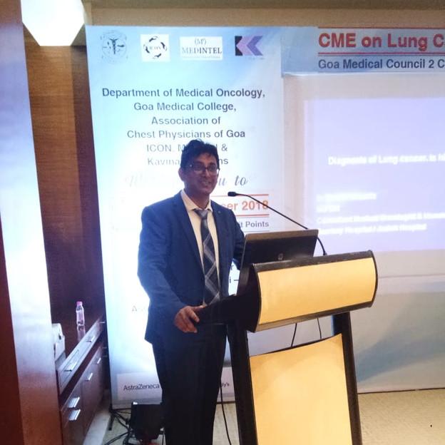 Lung Cancer CME: An Update