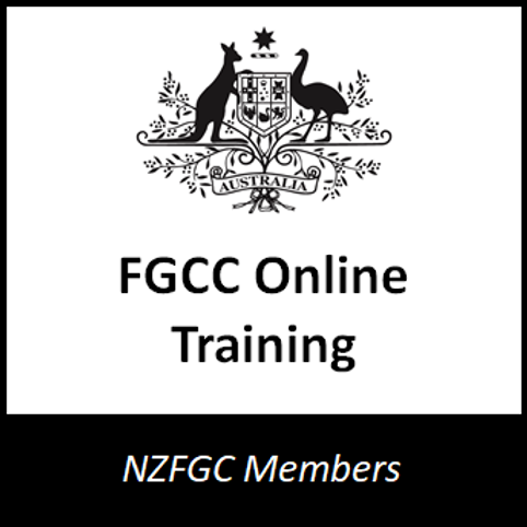 NZ Only FGCC Online Training - NZFGC Members