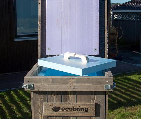 EcoBring Kompostbinge 200L