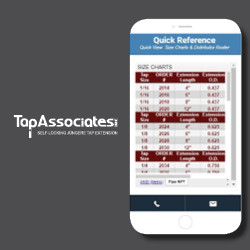Use our quick reference on the home page to check Tap dimensions required for the self-locking feature or to search for a distributor and online sales.