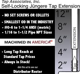 Tap Extension Sets ANSI (METRIC)