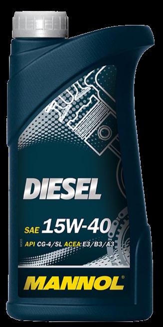 Diesel 15W40 Engine Oil (20/Case)
