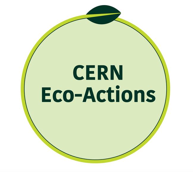 CERN Eco-Actions Club Logo