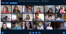 Europarlamentare Isabella Tovaglieri ha tenuto una lezione con gli allievi delle classi 5L e 5S