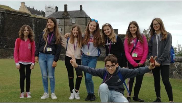 Viggio studio estivo in Scozia