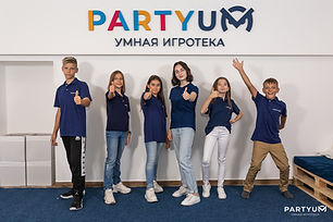 Франшиза умных игротек Partyum