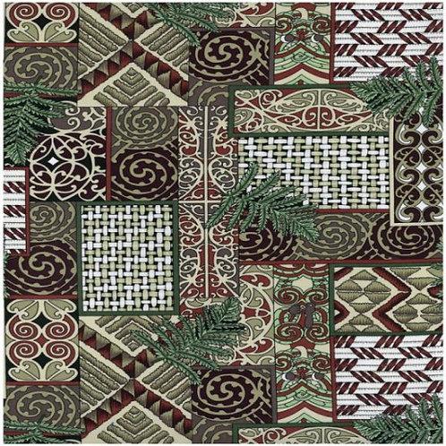 Nutex Kiwiana Kowhaiwhai Quilt Fabric