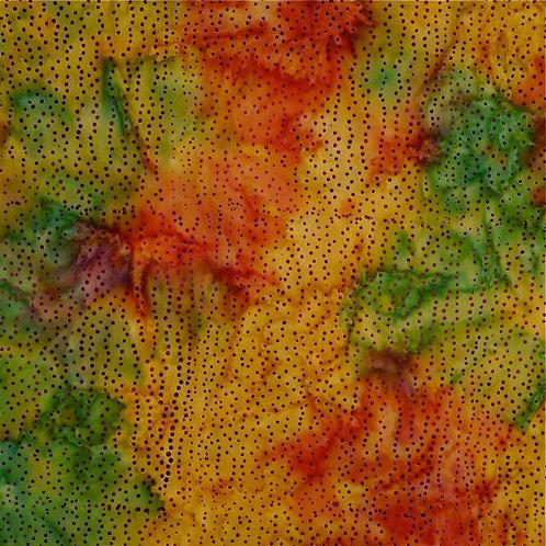 Mirah Zriya Love Nest Batik Rainbow Dot P/LV-05-5684 Quilt Fabric