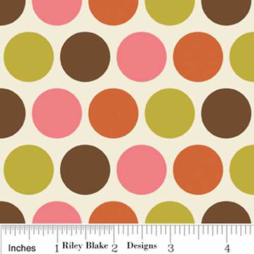 Riley Blake Indian Summer Col 8 Quilt Fabric