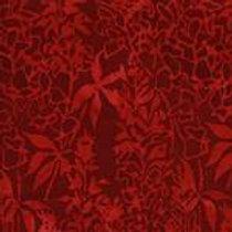 Island Batiks K104-C1 Red Foliage Quilt Fabric