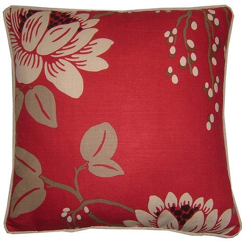 Romo Kimura Fuschia Cushion Cover
