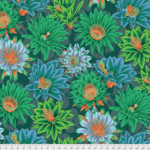 Kaffe Fassett Spring 2019 - Cactus Flower Green PWPJ096 GREEN Quilt Fabric