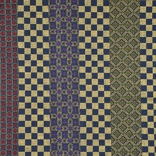 Quiltgate Hyakka Ryoran Col 23 Quilt Fabric