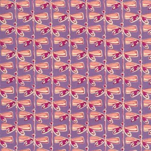 Kathy Davis JOURNEYS In Flight Persimmon Quilt Fabric