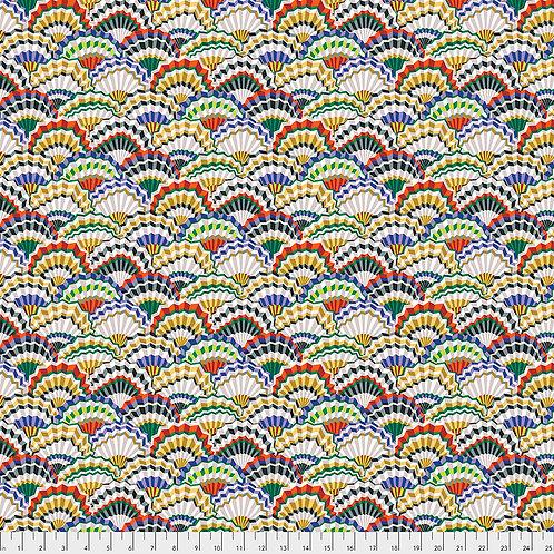 Kaffe Fassett Spring 2019 - Paper Fans Contrast PWGP143 CONTRA Quilt Fabric