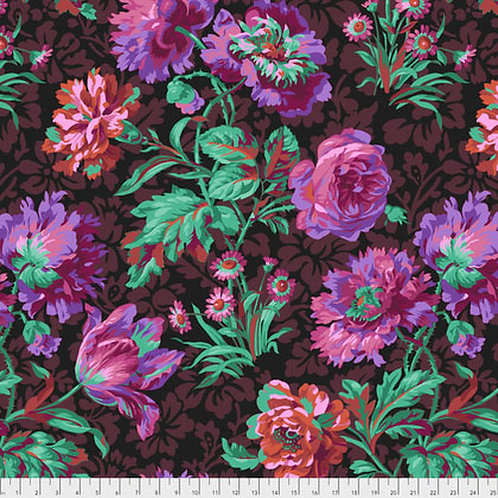 Kaffe Fassett Classics - Baroque Floral PJ090 BLACK Quilt Fabric