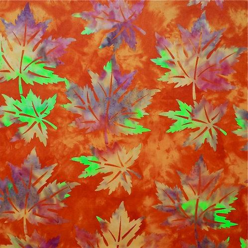 Mirah Zriya Casablanca Batik Glorious Orange P/CN-03-5714 Quilt Fabric