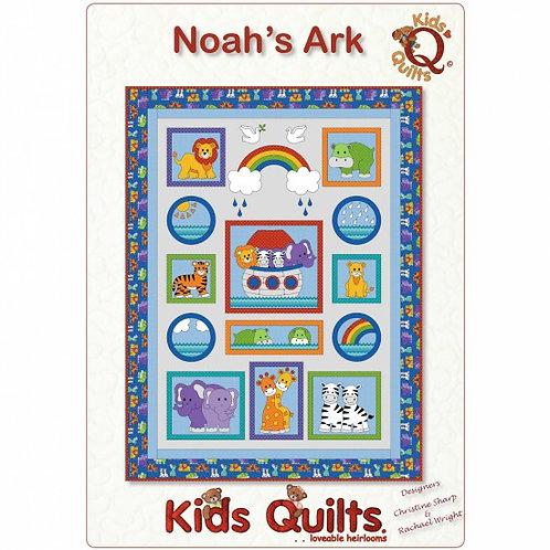 Kids Quilts 'Noah's Ark' Cot Quilt Pattern