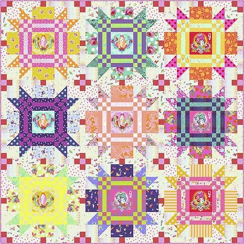 "Tula Pink ""Checkmate"" Quilt Pattern Free Download pdf"