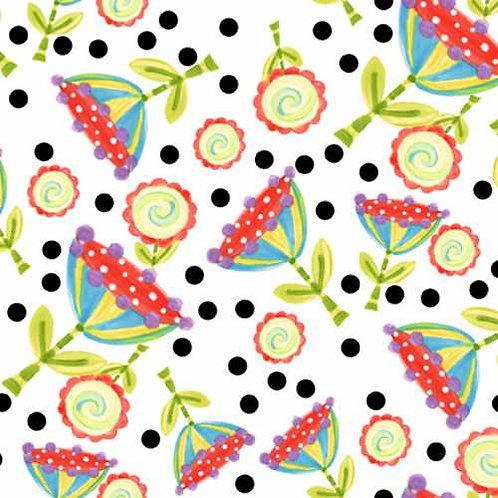 Tussie Mussie Jennifer Heyman 5JHC1 Quilt Fabric