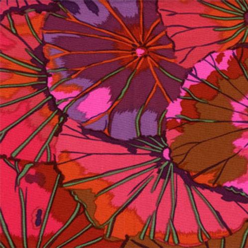 Kaffe Fassett Classics - Lotus Leaf Wine GP29 WINE Quilt Fabric