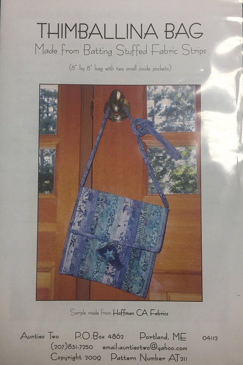 Aunties Two 'Thimballina Bag' Bag Pattern