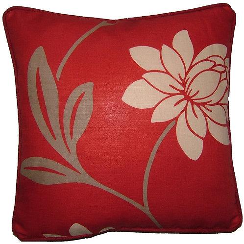 Romo Saiuri Red Cushion Cover
