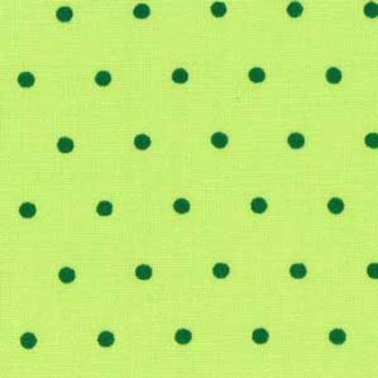 **SPECIAL** Green Polka Dots Quilt Fabric