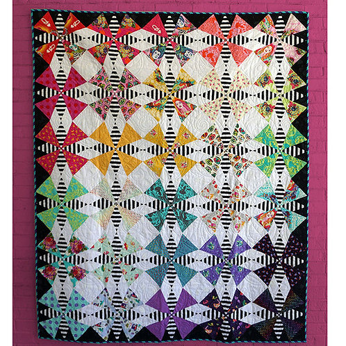 """Tula Pink """"The Hatter"""" Quilt Pattern Free Download pdf"""