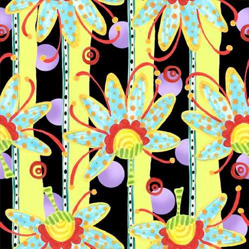 Tussie Mussie Jennifer Heyman 3JHC2 Quilt Fabric