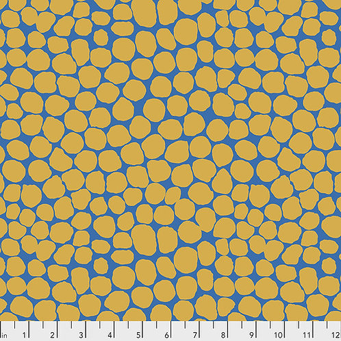 Kaffe Fassett Feb2020 - Jumble PWBM053 SAFFRON Quilt Fabric