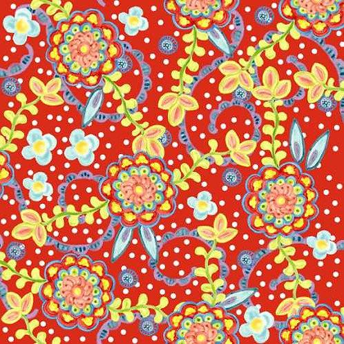 Tussie Mussie Jennifer Heyman 2JHC1 Quilt Fabric