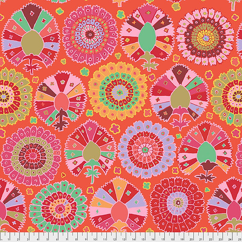 Kaffe Fassett Spring 2019 - Turkish Delight Red PWGP081 RED Quilt Fabric
