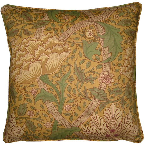William Morris Windrush Gold Cushion Cover