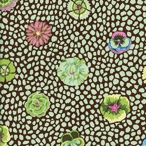 Kaffe Fassett Classics - Guinea Flower Green GP59 GREEN Quilt Fabric