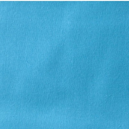 Turquoise Blue Homespun Cotton Quilt Fabric